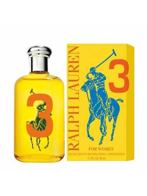 RALPH LAUREN BIG PONY WOMEN 3 YELLOW EDT VAPO 50ML