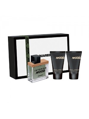 DSQUARED INTENSE HE WOOD EDT30ML+SHOWERGEL+BLOTION