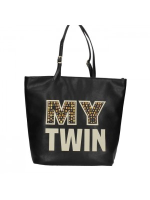 BORSA MY TWIN SHOPPING BORCHIE LOGO