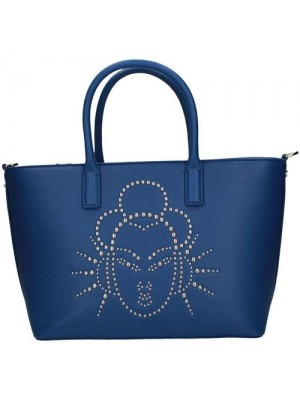 BORSA JOHN RICHMOND ORANGE SKIN BLUE