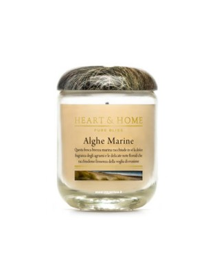 HEART&HOME ALGHE MARINE LARGE CANDLE