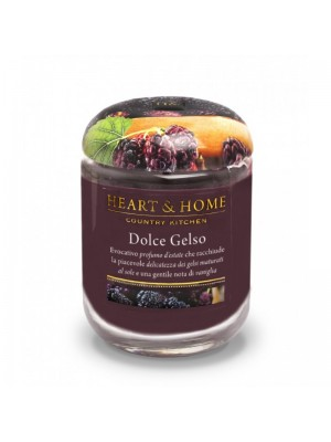 HEART&HOME DOLCE GELSO MEDIUM CANDLE