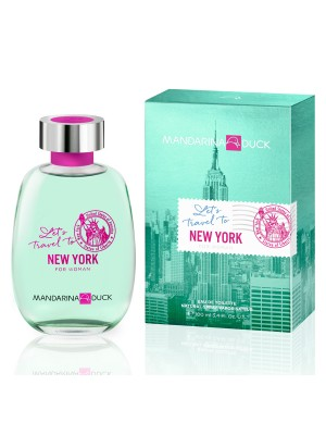 MANDARINA DUCK LET'S TRAVEL TO NEW YORK WOMAN EDT 100ML