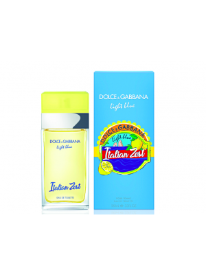 DOLCE & GABBANA LIGHT BLUE ITALIAN ZEST EDT 100ML