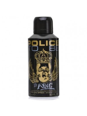 POLICE TO BE THE KING DEODORANTE SPRAY 150ML