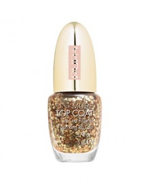 PUPA PINK MUSE TOP COAT PAILLETTES