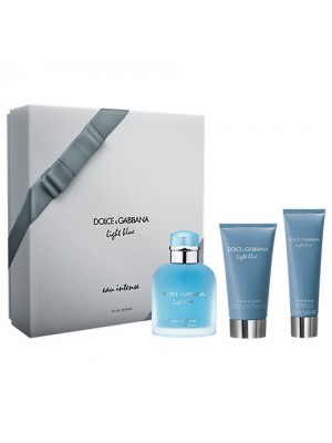 DOLCE & GABBANA LIGHT BLUE EAU INTENSE POUR HOMME EDP 100ML COFANETTO