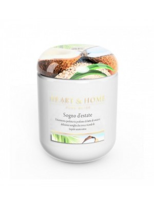 HEART&HOME SOGNO D'ESTATE LARGE CANDLE