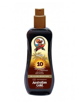 AUSTRALIAN GOLD SPRAY GEL SUNSCREEN SPF 10