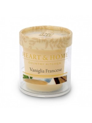 HEART&HOME VANIGLIA FRANCESE SMALL CANDLE