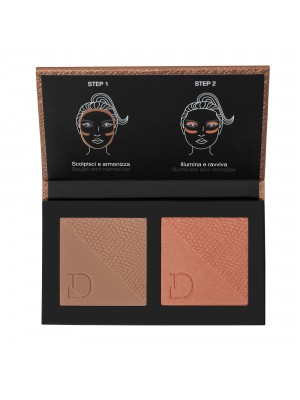 DIEGO DALLA PALMA DUO BRONZER&BLUSHLIGHT - MEDIUM TO LIGHT 325