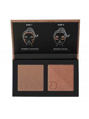 DIEGO DALLA PALMA DUO BRONZER&BLUSHLIGHT - MEDIUM TO DARK 326