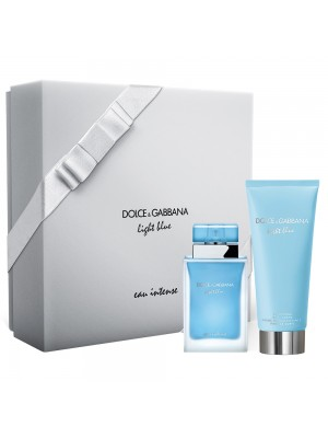DOLCE & GABBANA LIGHT BLUE EAU INTENSE EDP 50ML COFANETTO