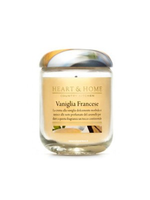 HEART&HOME VANIGLIA FRANCESE LARGE CANDLE