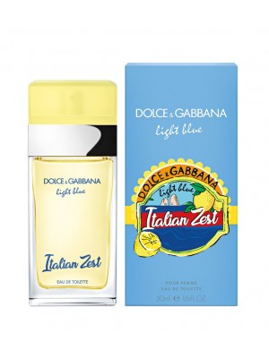 DOLCE & GABBANA LIGHT BLUE ITALIAN ZEST EDT 50ML