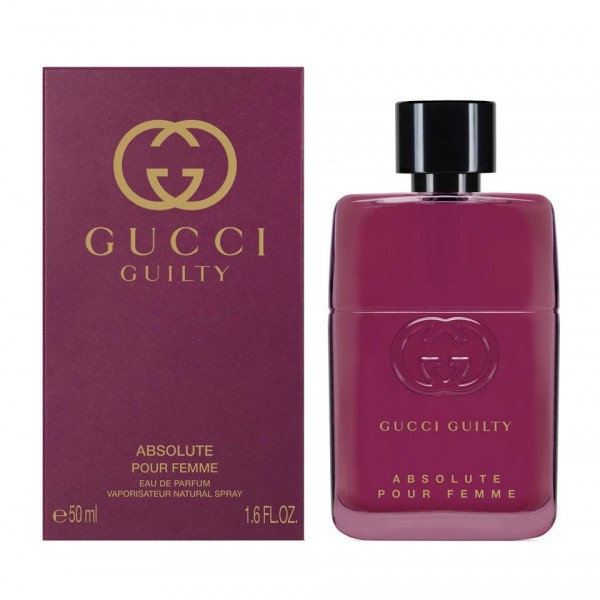 GUCCI GUILTY ABSOLUTE POUR FEMME EDP 50ML