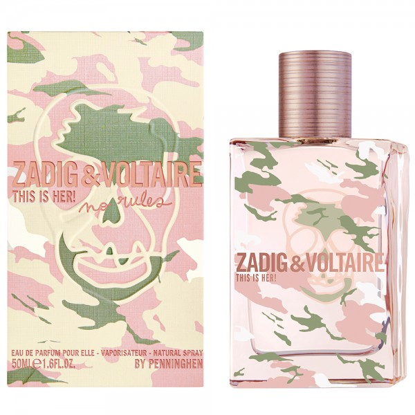 ZADIG&VOLTAIRE THIS IS HER! NO RULES EDT 50ML